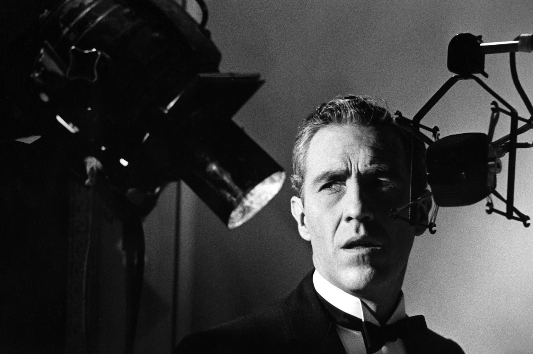 Jason Robards on set of Tender is the Night, 20th Century Fox, 1961.