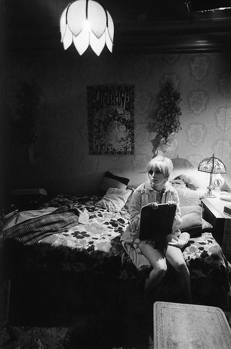 Goldie Hawn on Columbia Studios set of Cactus Flower, 1969.