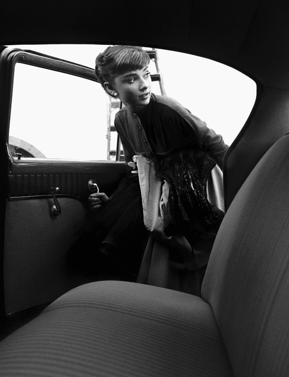 Audrey Hepburn, Studio Car