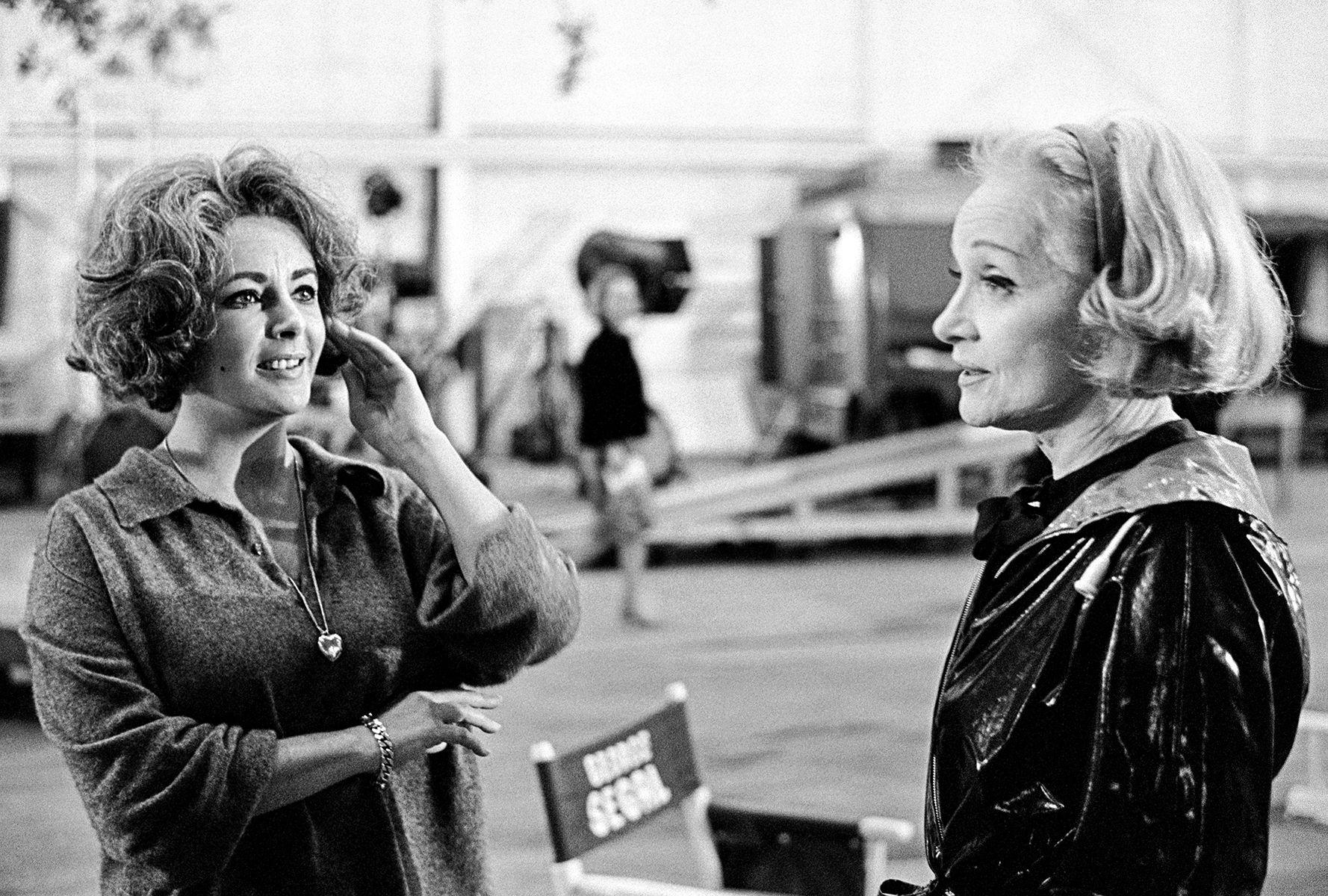 Liz Taylor, Marlene Dietrich