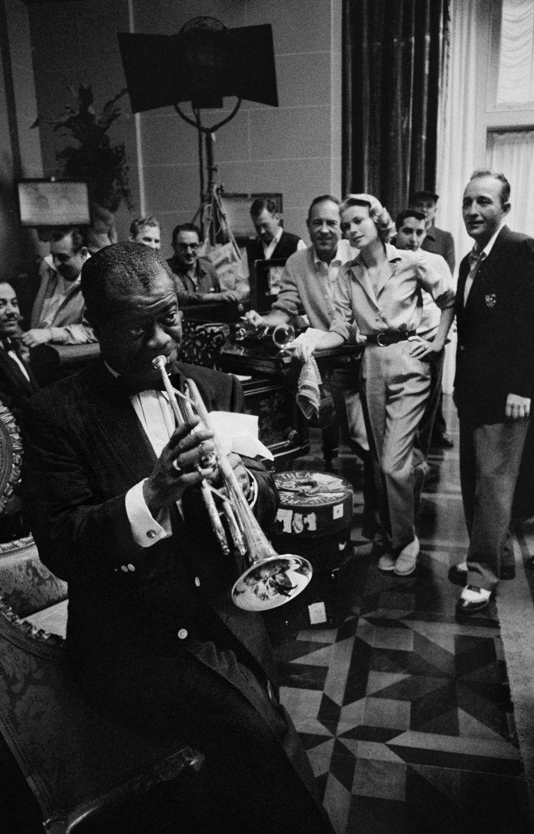 Louis Armstrong, Grace Kelly, Bing Crosby