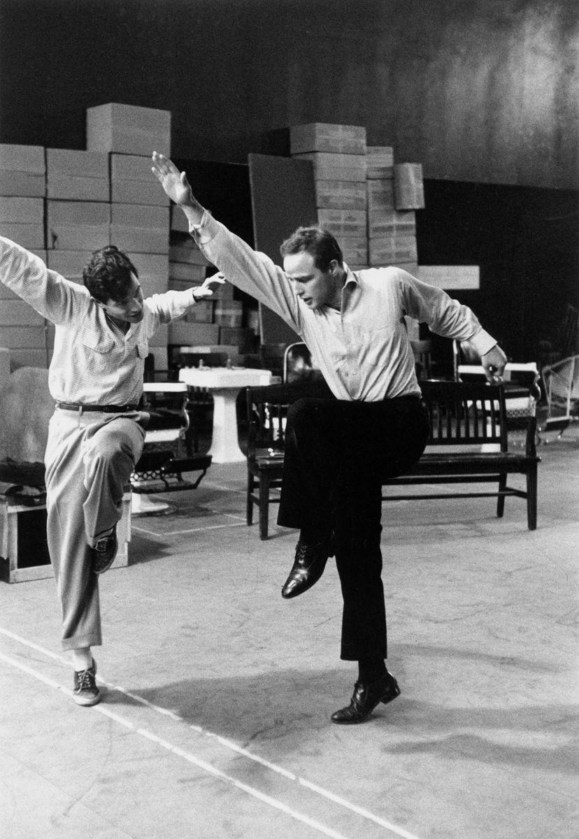Marlon Brando, Michael Kidd, Dance