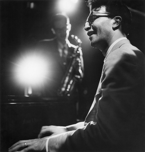 Dave Brubeck performs at The Haig in Los Angeles, 1950.