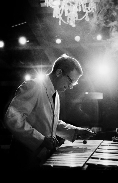 Cal Tjader in action at the Black Hawk nightclub in San Francisco, 1957.