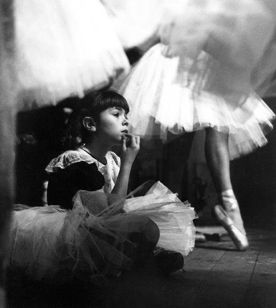 Bonnie Paterson watches, 1953.