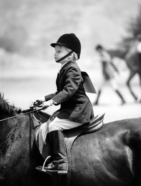 Erica, little rider, 1967.