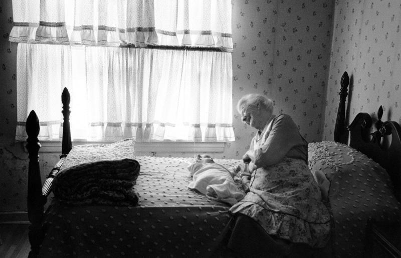 Grandma Coennen, Los Angeles, 1958.