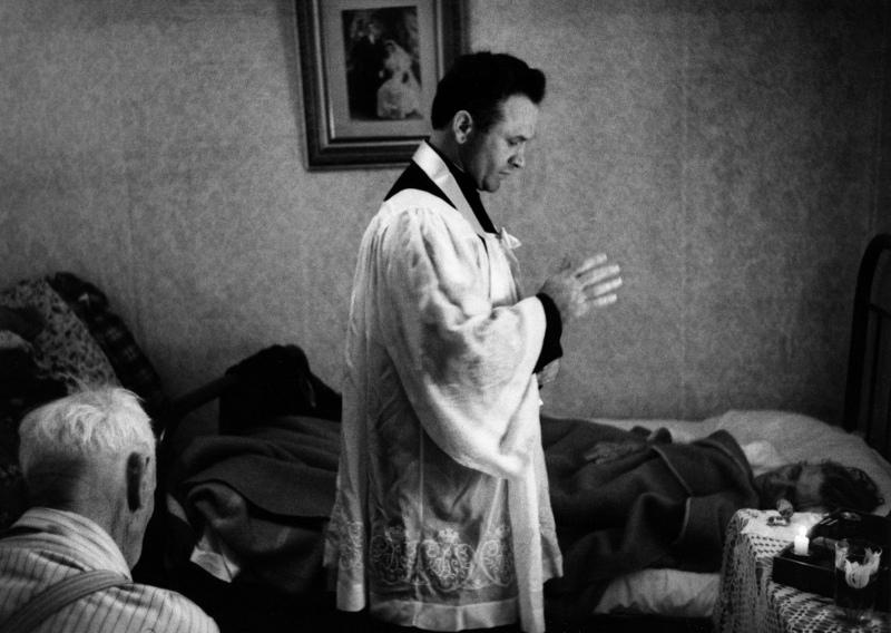 Last Rites, Nevada City, 1953.