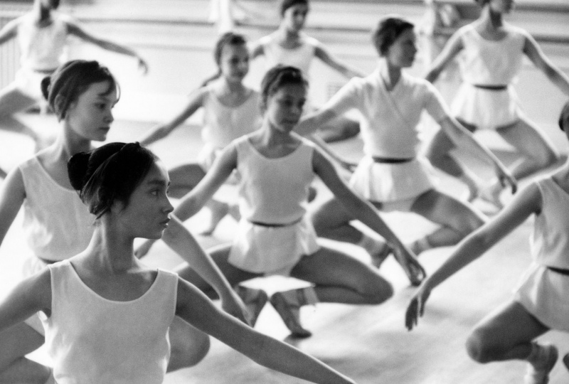 Patricia Whittle, full class, 1962.