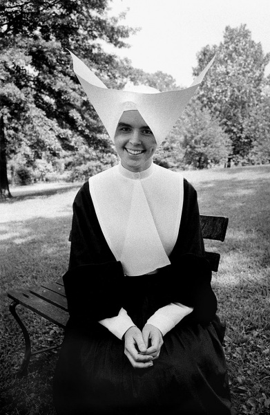 Sister Celine, St. Louis, 1958.