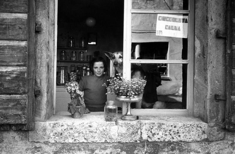 Udine window, Italy, 1957.