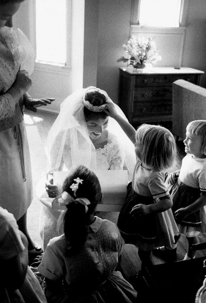 Dorothy as new bride, 1959.