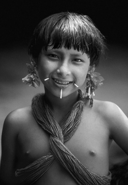 Waika-child-Orinoco-River-Venezuela-1970