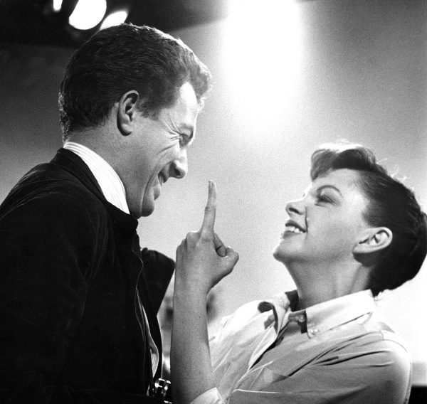 Bob Willoughby and Judy Garland, 1954